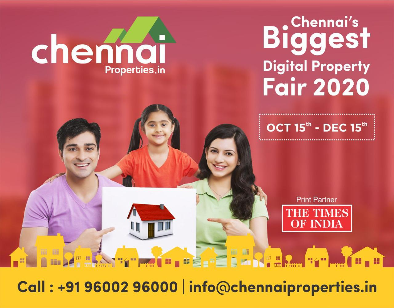 Chennai Properties Digital Property Fair 2020