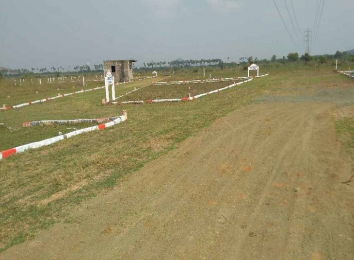 Land for sale in Singaperumal Koil